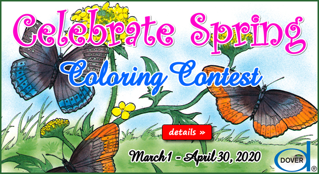 Celebrate Spring Coloring Contest