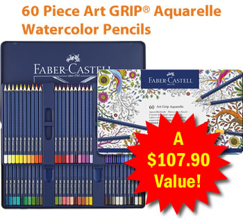 Dover   Faber-Castell Deluxe Colored Pencil Sets