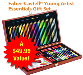 Dover | Faber-Castell Deluxe Colored Pencil Sets