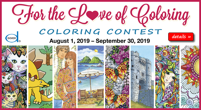 Dover Books | Dover Publications | Contests and Sweepstakes