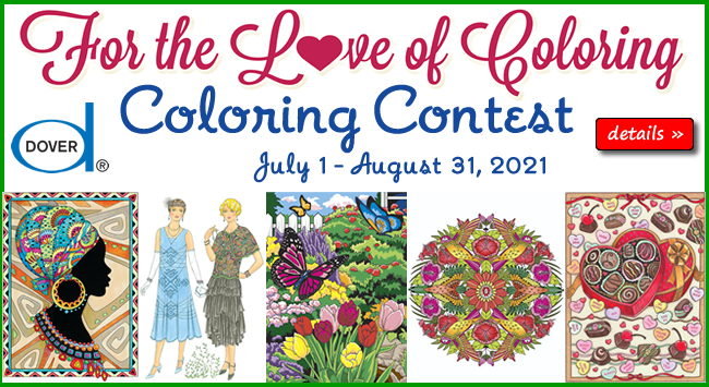 For the Love of Coloring Contest