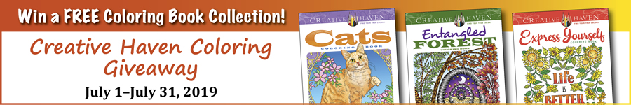 Summer Coloring Giveaway