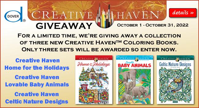Creative Haven Giveaway