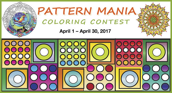 Pattern Mania Coloring Contest