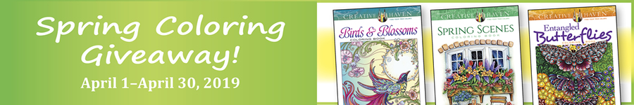 Instant Spring Coloring Giveaway