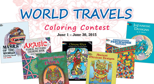 World Travels Coloring Contest
