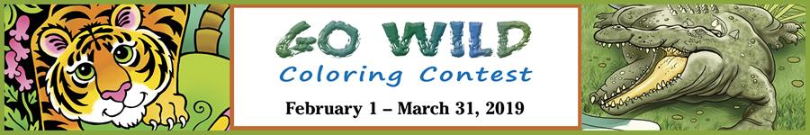 Go Wild Coloring Contest