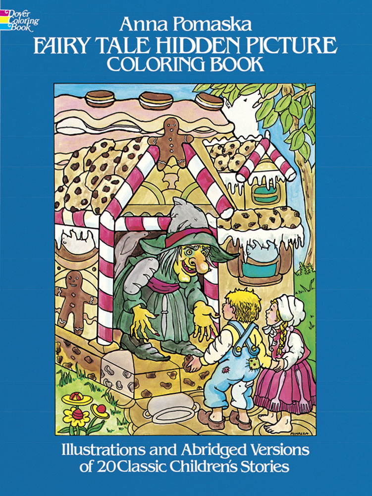Hidden pictures fairytale coloring book