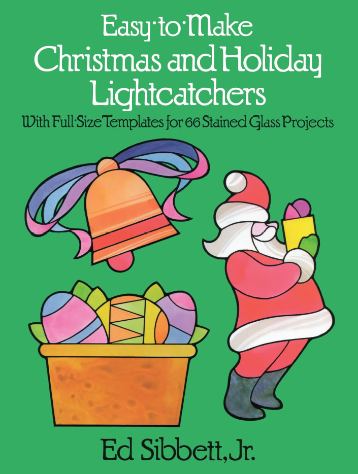 Chrismtas crafts light catcher templates for coloring or stained glass