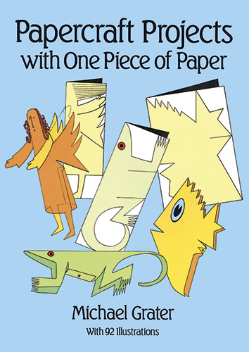 Paper crafts to make with 1 sheet