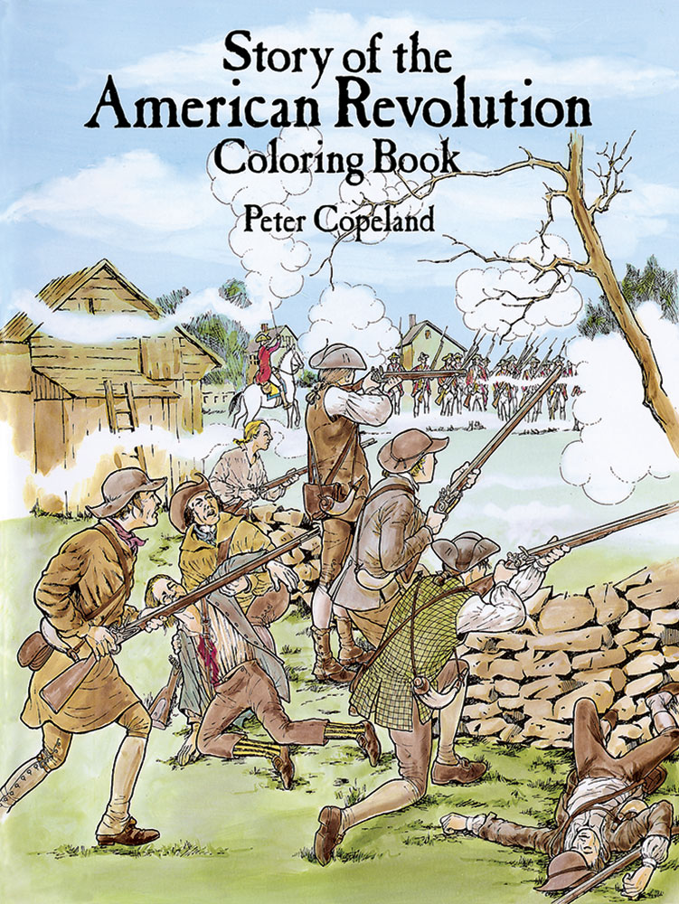 American Revolution coloring book