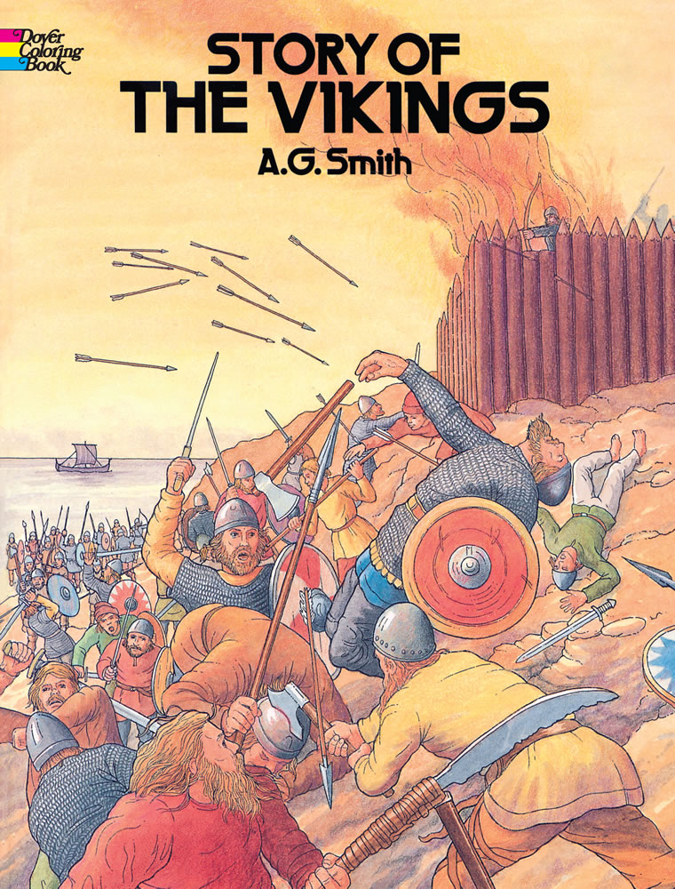 Vikings coloring book