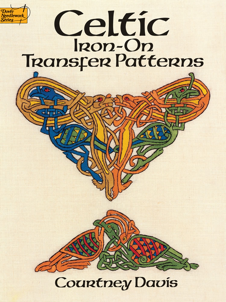 Celtic iron on transfers full color