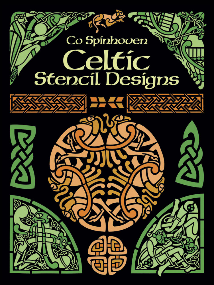 Celtic stencil designs to color or for crafts