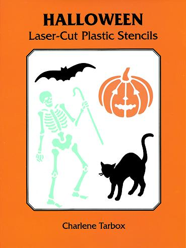 Halloween stencils craft kit