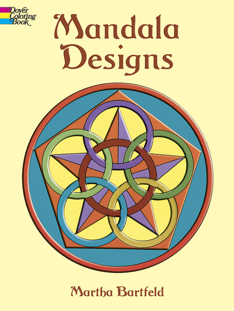 Mandala designs coloring book for all ages