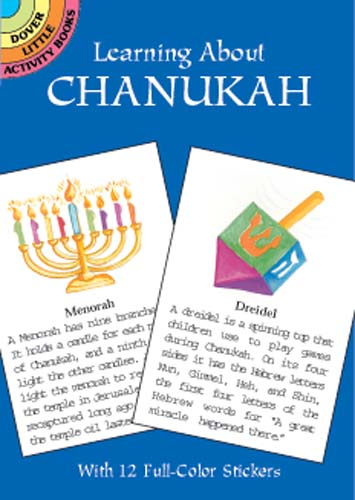 Learning about Chanukah Little Activity Book