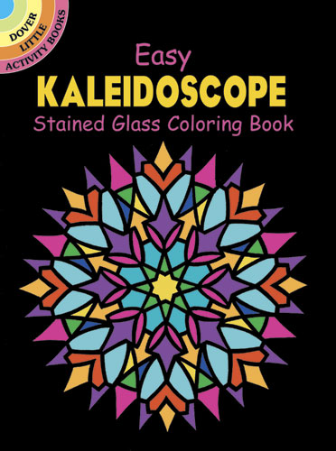 Easy kaleidoscope coloring book