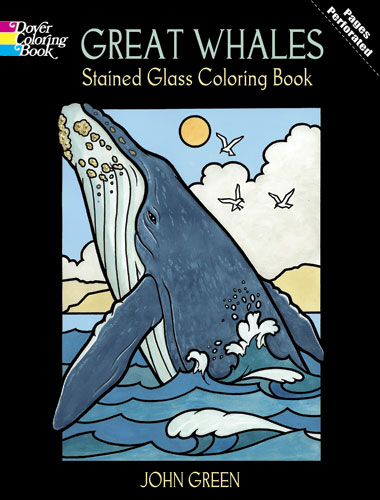 Whales coloring book