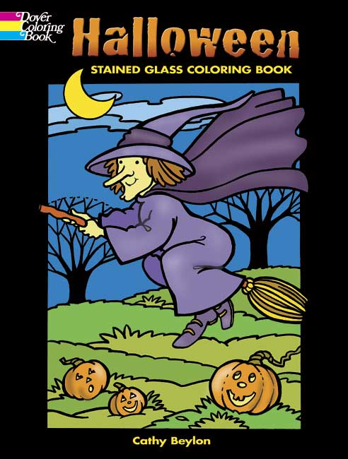 Cute Halloween designs coloring book
