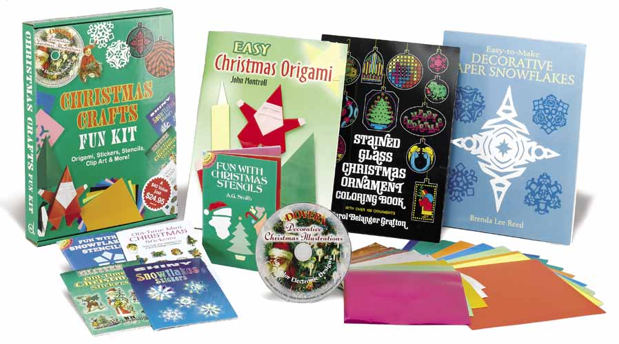 Christmas Crafts Fun Kit gift set