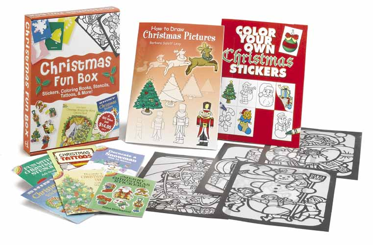 Christmas fun box gift set