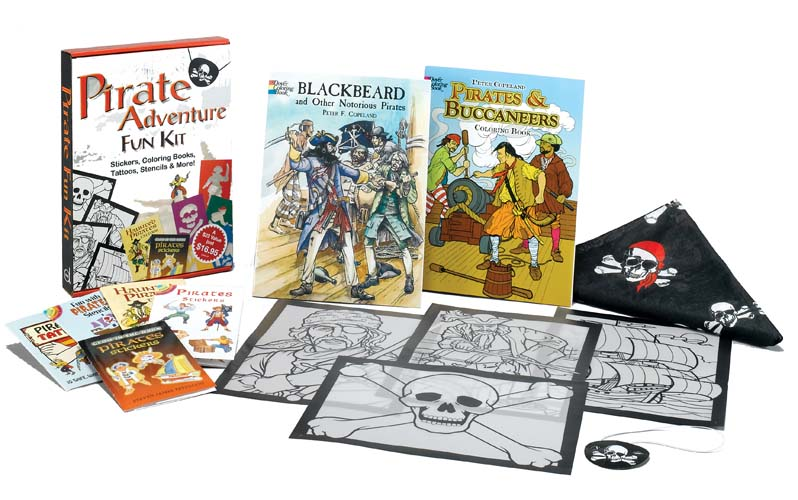 Pirate adventure fun kit