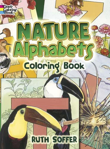 Dover nature alphagets coloring book