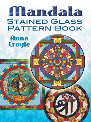 Mandala stained glass design book