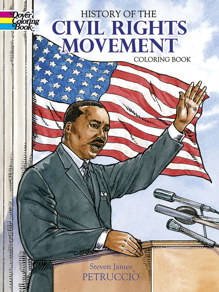 US Civil Rights history coloring book