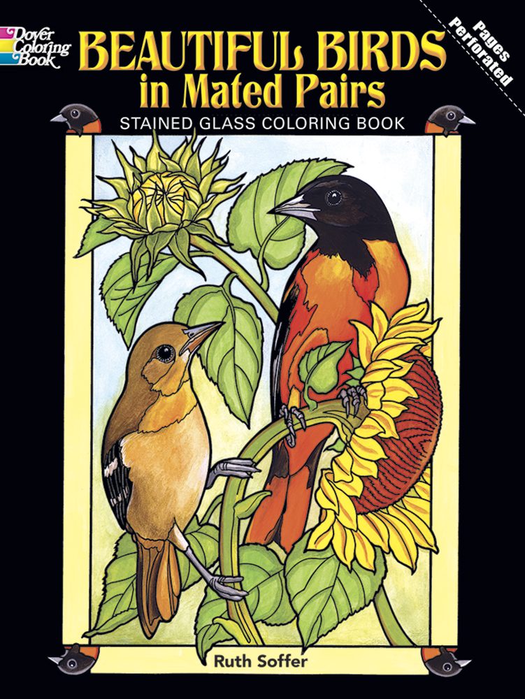 Beautiful birds coloring book, mated pairs