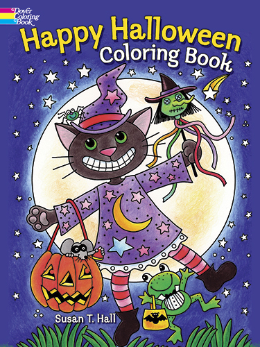 Halloween designs kids coloring book