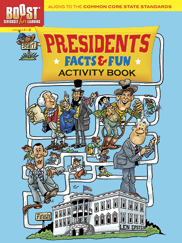Presidents facts activity book common core