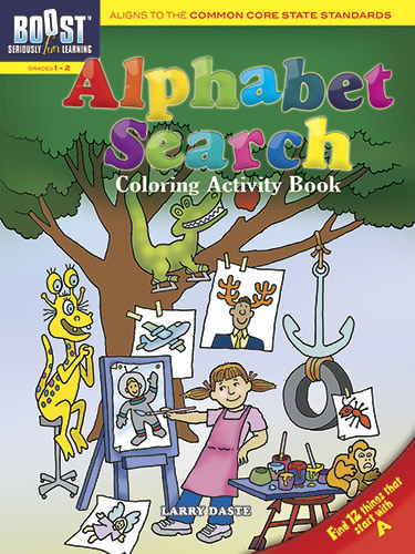 Common Core standards alphabet activity book