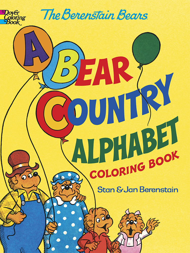 Berenstain Bears alphabet coloring book