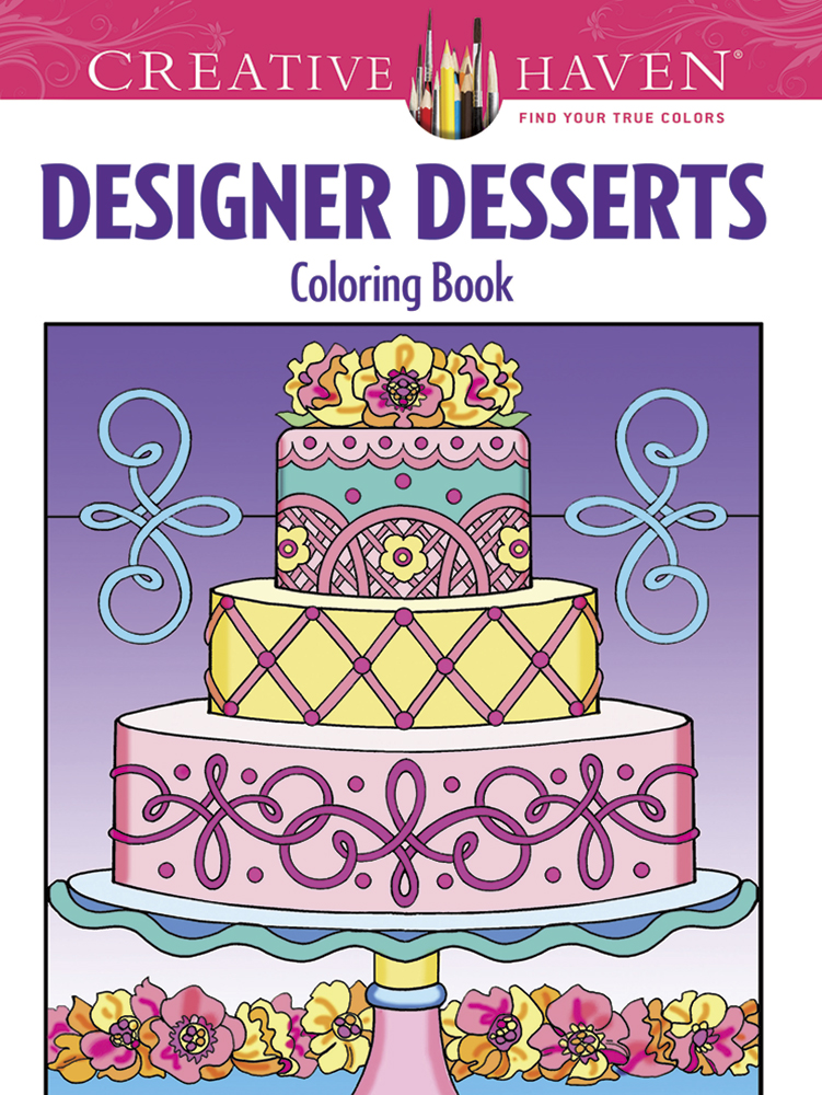 Fabulous desserts coloring book