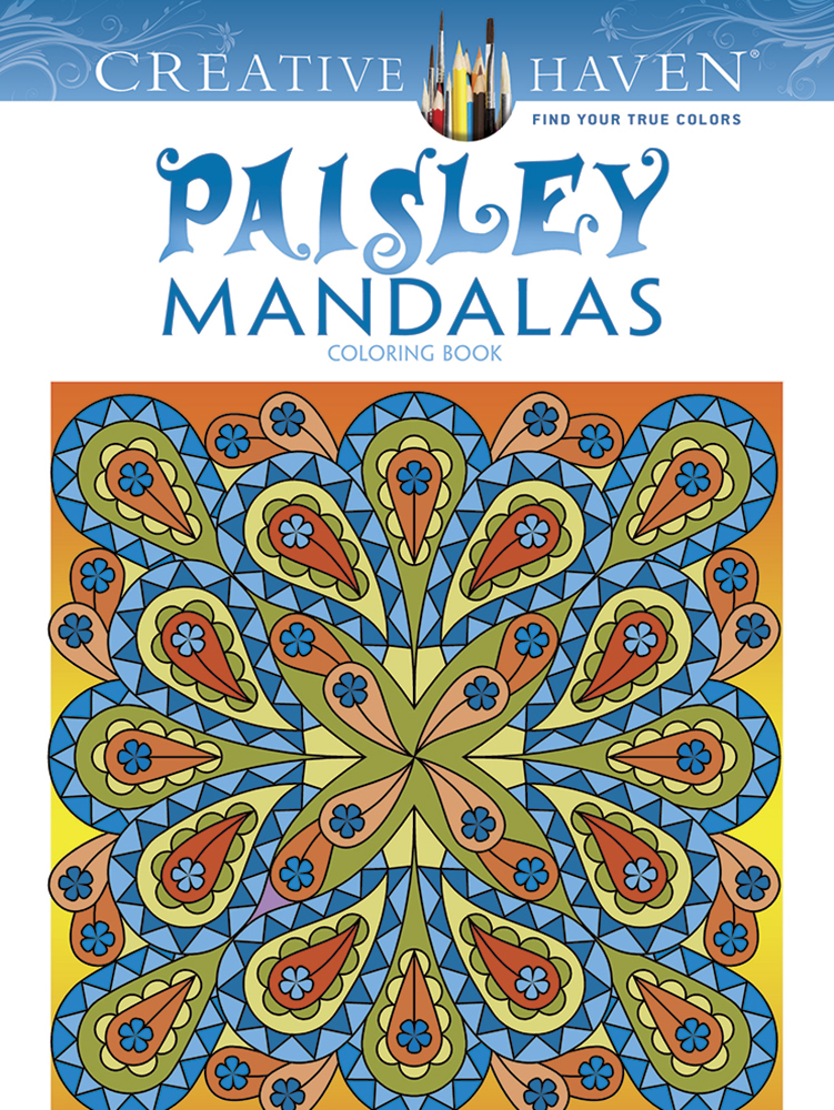 Paisley Mandala Designs to Color