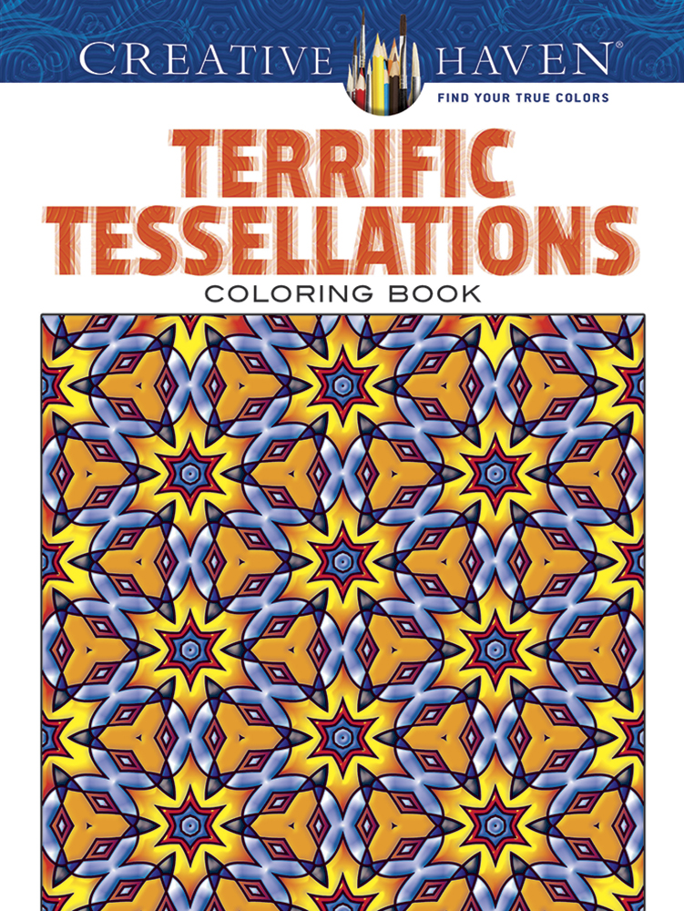 Geometric design coloring tessellations