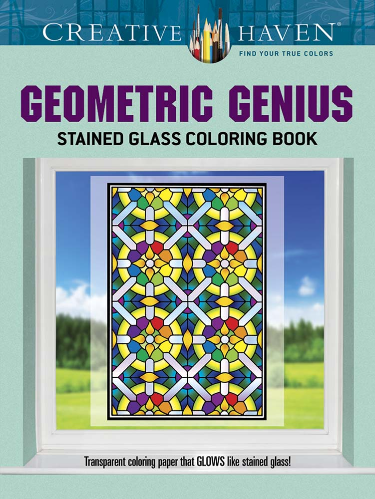 Geometric designs coloring book