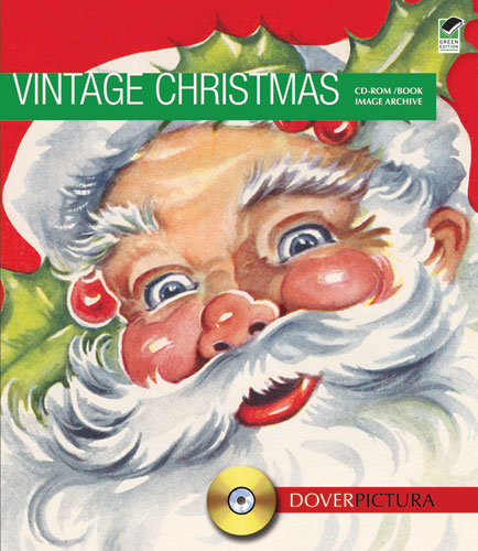 Vintage Christmas clip art CDrom and book