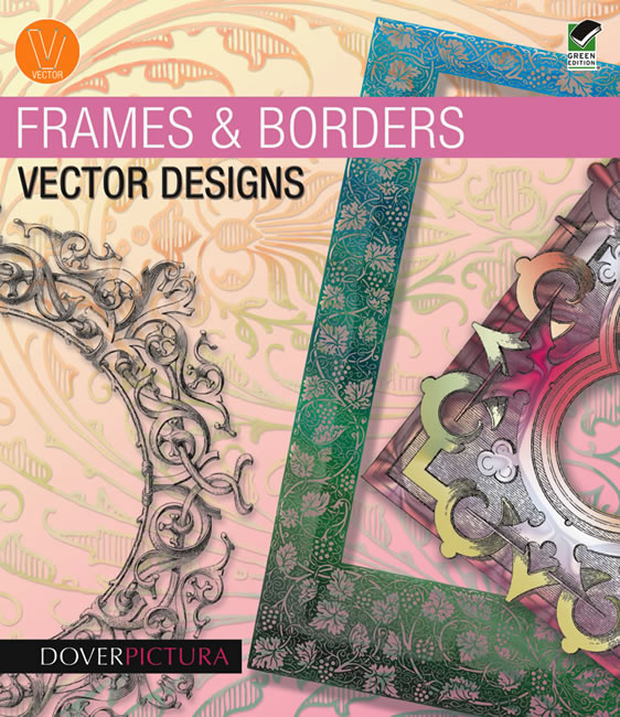 Vector clip art frames and borders