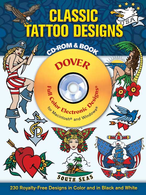 Classic tattoo designs CDrom and book
