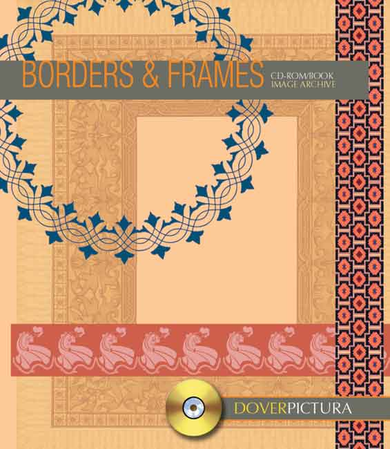 Borders and Frames clip art book and
