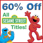 60% Off All Sesame Street Titles