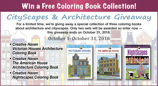 CityScapes and Architecture Giveaway