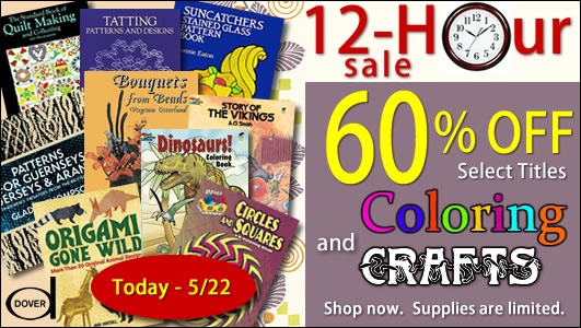 Save 60% on Select Coloring and Crafts Titles