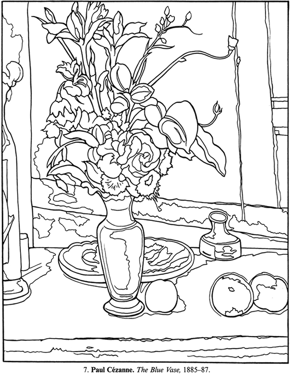 printable coloring pages of masterpieces - photo#13