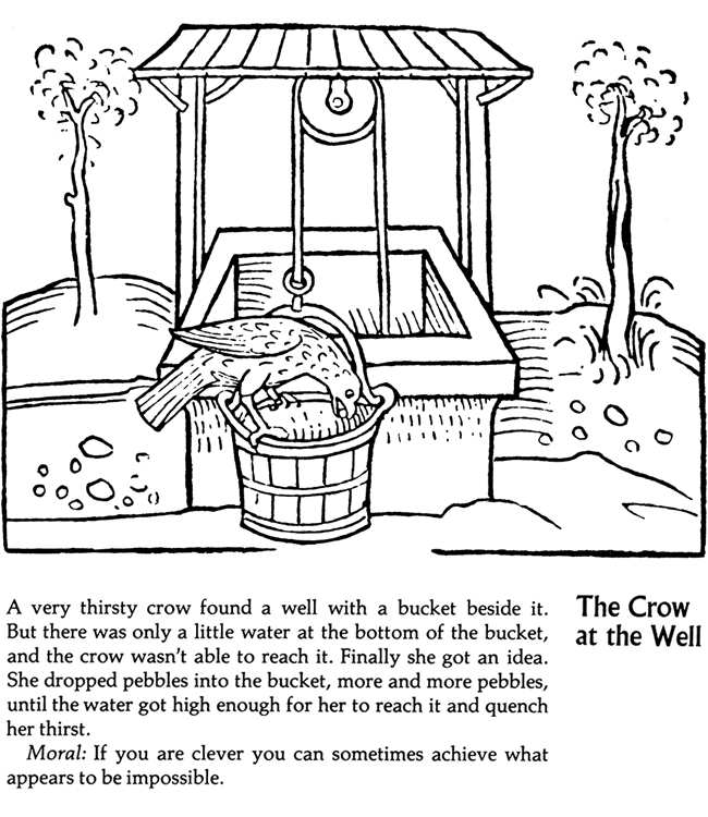 aesop fable coloring pages - photo#22