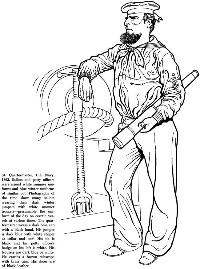 free civil war coloring pages