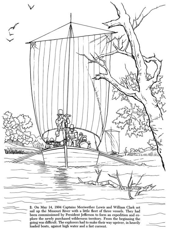 Worksheets Lewis And Clark Expedition : Welcome to dover publications
